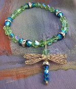 *Wholesale Dazzlefly Beaded Charm Bracelet