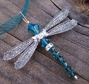 *Wholesale Dazzlefly Necklace on Ribbon