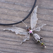 NEW *Wholesale Fairy Necklace on Leather