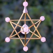NEW *Wholesale Rose Quartz Large Stone Merkaba