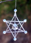 NEW Retail Opalite Large Stone Merkaba