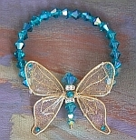 *Wholesale Butterfly Beaded Bracelet